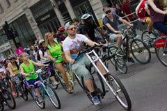 RideLondon Cycling Event - London 2015 Stock Photography