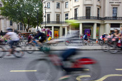 RideLondon Cycling Event - London 2015 Royalty Free Stock Photo