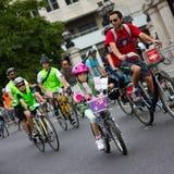 RideLondon het Cirkelen Gebeurtenis - Londen 2015 Stock Fotografie