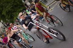 RideLondon kolarstwa wydarzenie - Londyn 2015 Zdjęcia Royalty Free