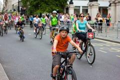 RideLondon kolarstwa wydarzenie - Londyn 2015 Obraz Stock