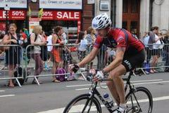RideLondon som cyklar helg Royaltyfri Foto