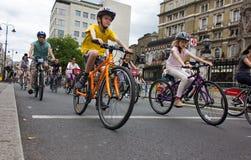 RideLondon som cyklar händelsen - London 2015 Arkivfoto