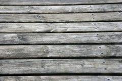 Riden ut gammal träbrädebakgrund Arkivfoto