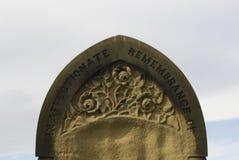 Riden ut gravsten Royaltyfria Bilder