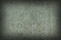 Riden ut och bedrövad texturerad bakgrundsvägg för gråaktig gräsplan Royaltyfri Bild