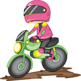 A rider Royalty Free Stock Image