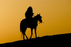The rider Stock Photography