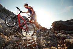 rider immagine stock