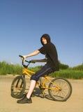 Rider. On bmx Stock Photography