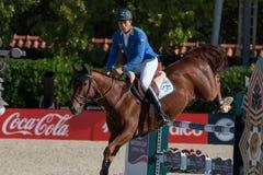Rider AHLMANN, Christian. CSIO Barcelona Stock Images