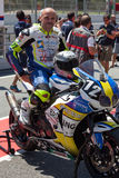 Rider Albert Badia. Team Briefing Endurance Royalty Free Stock Photos