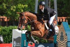 Rider ANDRADE, Emanuel. CSIO Barcelona Royalty Free Stock Photo