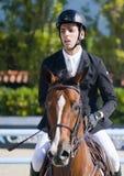 Rider ANDRADE, Emanuel. Venezuela. CSIO Barcelona. Royalty Free Stock Images