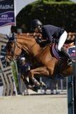 Rider BARYARD-JOHNSSON Malin. CSIO Barcelona Royalty Free Stock Photo
