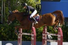 Rider BARYARD-JOHNSSON Malin. CSIO Barcelona Royalty Free Stock Image
