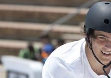 Rider Brandon Loupos Suciedad de BMX Foto de archivo libre de regalías