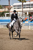Rider competing in dressage competition classic, Mijas Royalty Free Stock Photos