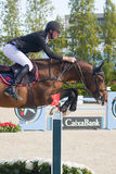 Rider. CSIO Barcelona. CSIO Barcelona. 103rd International Jumping Competition. Furusiyya FEI Nations Cup Royalty Free Stock Image