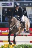 Rider. CSIO Barcelona. Stock Photo