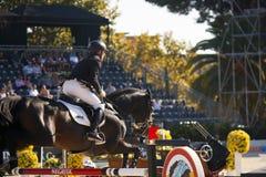 Rider EHNING, Marcus. Germany. CSIO Barcelona. Royalty Free Stock Image
