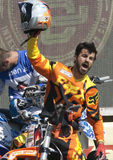 Rider El loco Miralles. FMX Freestyle Stock Image