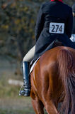 Rider in equestrian event Stock Photo