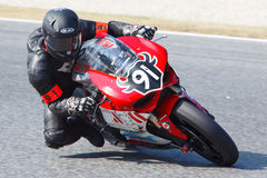 Rider Frederic Muñoz. Team Promorest. Stock Photos