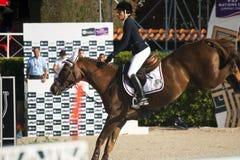 Rider GRAELLS CROS, Virginia . CSIO Barcelona Stock Photography