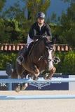 Rider HECART, Marie. France. CSIO Barcelona. Stock Photography