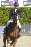 Rider HECART, Marie. France. CSIO Barcelona. Stock Images