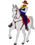 Rider horse Royalty Free Stock Images