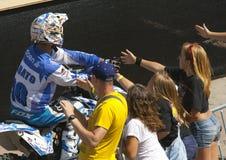Rider Jabato Xavi Dols. FMX Freestyle. Stock Photo