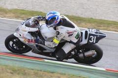 Rider Jose Maria Rodriguez Team Gas Endurance Stockfotografie