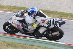 Rider Jose Maria Rodriguez. Team Gas Endurance. Stock Photography