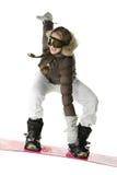 Rider jumping Royalty Free Stock Image