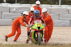 Rider Marc Creu Miro. CEC Alcarras Team. Royalty Free Stock Image