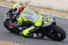 Rider Massimiliano Chetry Equipo de la bujía métrica Turons Foto de archivo libre de regalías
