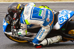 Rider Miquel Crous. CEC Alcarras. Royalty Free Stock Photo