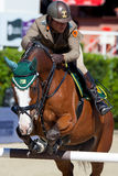 Rider MONETA Luca Maria. CSIO Barcelona Stock Photos