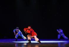 Rider-Mongolia folk dance Royalty Free Stock Photography