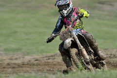 Rider participates in the Third National Endurocross Stock Photography