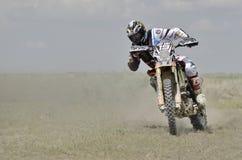 Rider participates in the World Endurocross Championship Stock Image