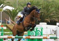 Rider  Reiko Takeda Royalty Free Stock Image