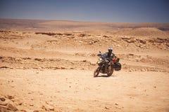 Rider travels Royalty Free Stock Photos