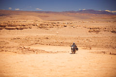 Rider travels Royalty Free Stock Photo