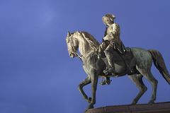 Rider from vienna landmark Stock Photo