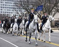 Riders of the Caisson Platoon Stock Images
