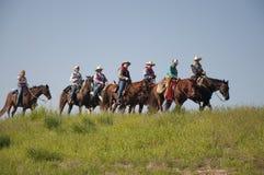Riders on the Horizon Stock Image