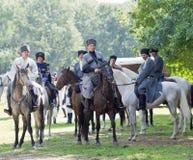 Riders on horseback. Cossacks Royalty Free Stock Image